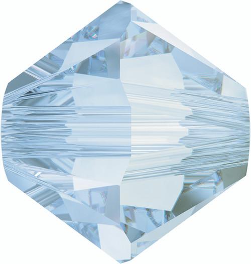 Swarovski 5328 6mm Xilion Bicone Beads Crystal  Blue Shade   (36 pieces)