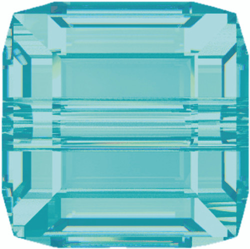 Swarovski 5601 8mm Cube Beads Light  Turquoise  (96 pieces)