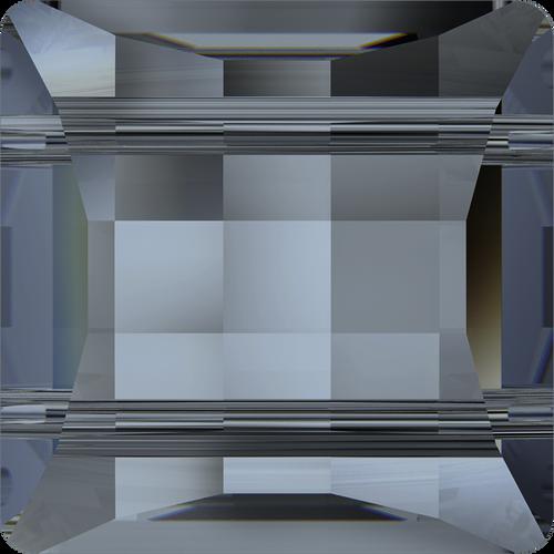 Swarovski 5625 10mm Stairway Beads  (2-holes) Crystal  Blue Shade