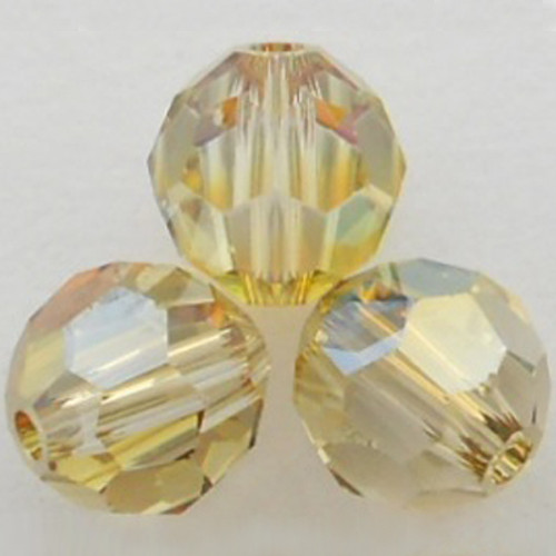 Swarovski 5000 8mm Round Beads Crystal Verde