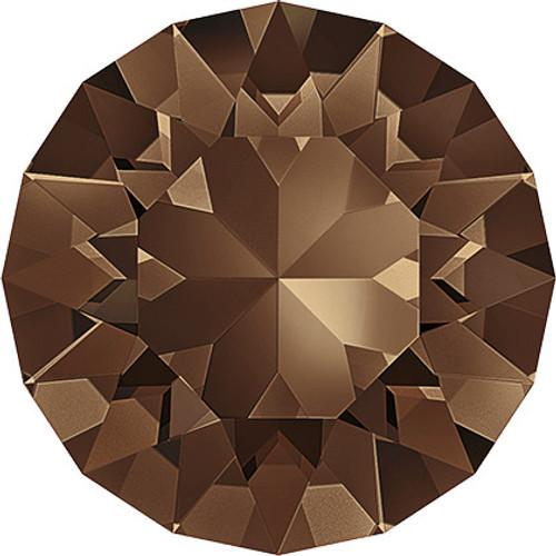 Swarovski 1088 39ss Xirius Round Stones Smoked Topaz (144 pieces)