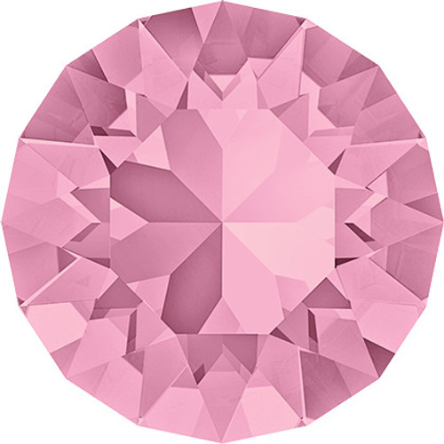 Swarovski 1088 39ss Xirius Round Stones Light Rose (144 pieces)