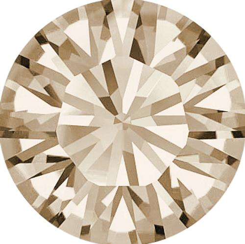 Swarovski 1028 11pp Xilion Round Stones Light Silk (1440 pieces)