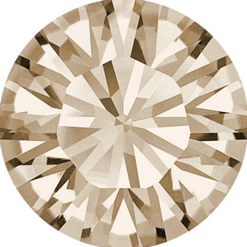Swarovski 1028 9pp Xilion Round Stones Light Silk (1440 pieces)