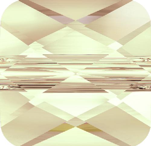 Swarovski 5053 6mm Mini Square Beads Light Silk (288 pieces)