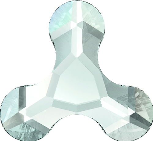 Swarovski 2708 12mm Molecule Flatback Crystal Silver Night (96 pieces)
