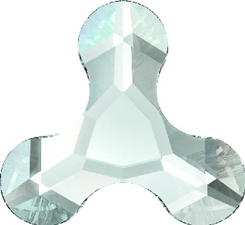 Swarovski 2708 8mm Molecule Flatback Crystal Silver Night (288 pieces)