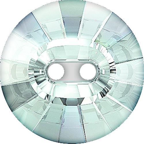 Swarovski 3019 14mm Rivoli Button Crystal Silver Night (36 pieces)