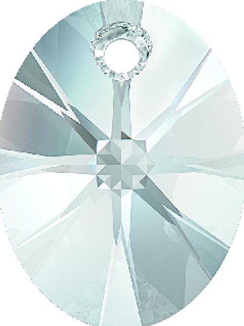 Swarovski 6028 18mm Xilion Oval Pendants Crystal (72 pieces)