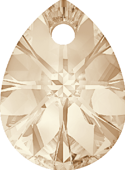 Swarovski 6128 10mm Xilion Mini Pear Light Silk (288 pieces)