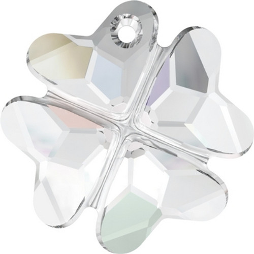 Swarovski 6764 19mm Clover Pendants Crystal AB ( 48 pieces)