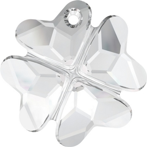Swarovski 6764 28mm Clover Pendants Crystal ( 16 pieces)