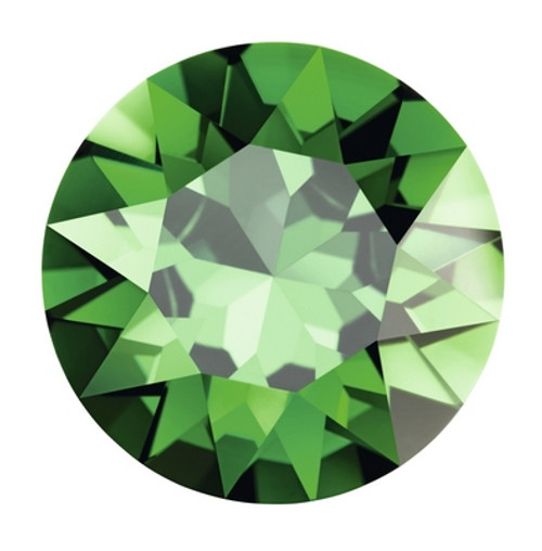 Swarovski 3224 23mm Pure Leaf Flat Sew On Stones Dark Moss Green  ( 30 pieces)