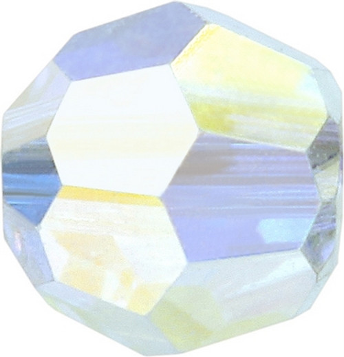 Swarovski 5000 6mm Round Beads Crystal AB Fully Coated  ( 360 pieces)