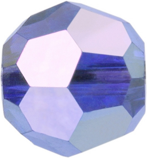 Swarovski 5000 6mm Round Beads Sapphire AB Fully Coated  ( 360 pieces)