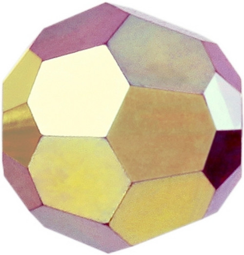 Swarovski 5000 6mm Round Beads Siam AB Fully Coated  ( 360 pieces)