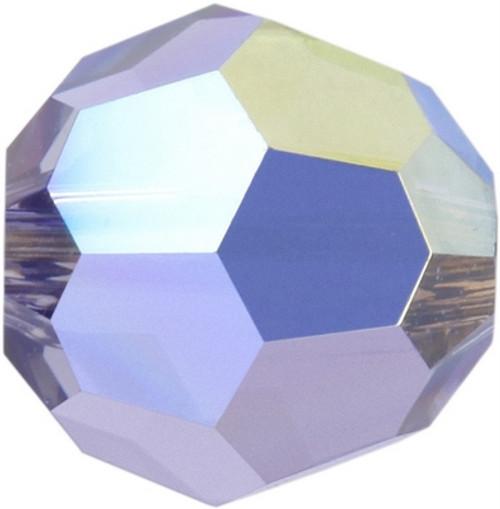 Swarovski 5000 6mm Round Beads Tanzanite AB Fully Coated  ( 360 pieces)