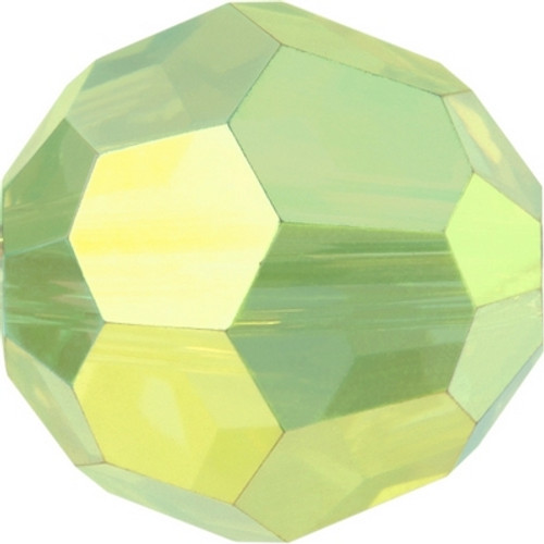Swarovski 5000 8mm Round Beads Peridot AB Fully Coated  ( 288 pieces)