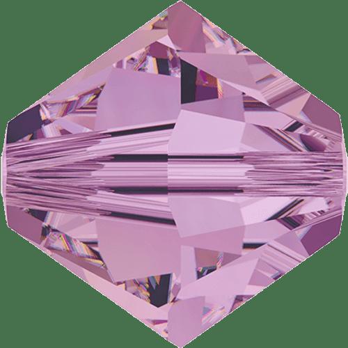 Swarovski 5328 8mm Xilion Bicone Beads Crystal Lilac Shadow ( 288 pieces)