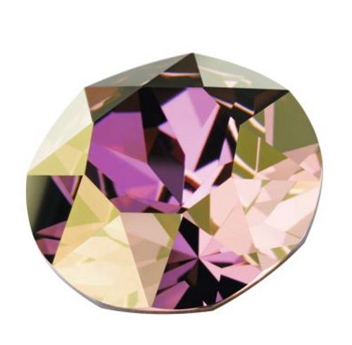 Swarovski 5625 10mm Stairway Beads (2-hole) Crystal Lilac Shadow ( 108 pieces)
