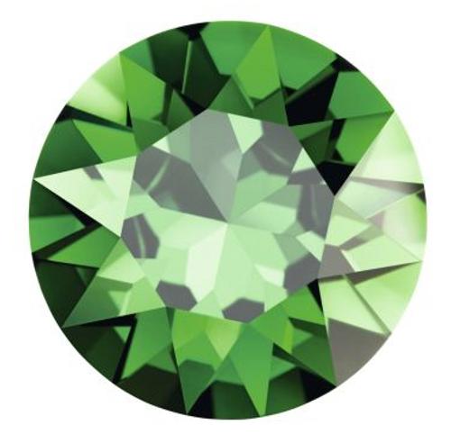 Swarovski 2038 34ss Xilion Flatback Dark Moss Green Hot Fix  ( 144 pieces)