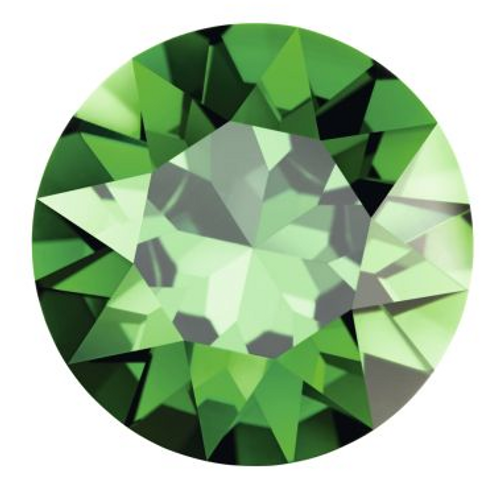 Swarovski 2204 10mm Pure Leaf Flatback Dark Moss Green  ( 144 pieces)