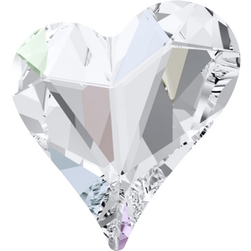 Swarovski 4809 17mm Sweet Heart Fancy Stones Crystal AB ( 48 pieces)