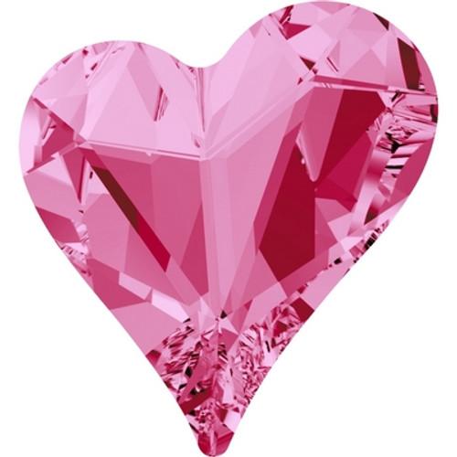 Swarovski 4809 17mm Sweet Heart Fancy Stones Rose ( 48 pieces)