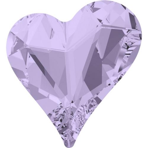 Swarovski 4809 17mm Sweet Heart Fancy Stones Violet ( 48 pieces)