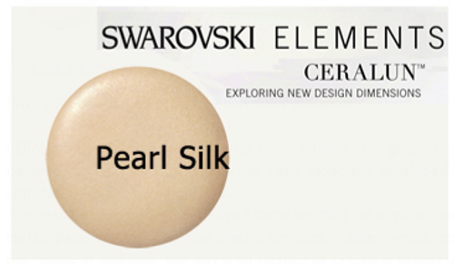 Swarovski Ceralun Ceramic Composite : Pearl Silk Epoxy Clay (100 grams)