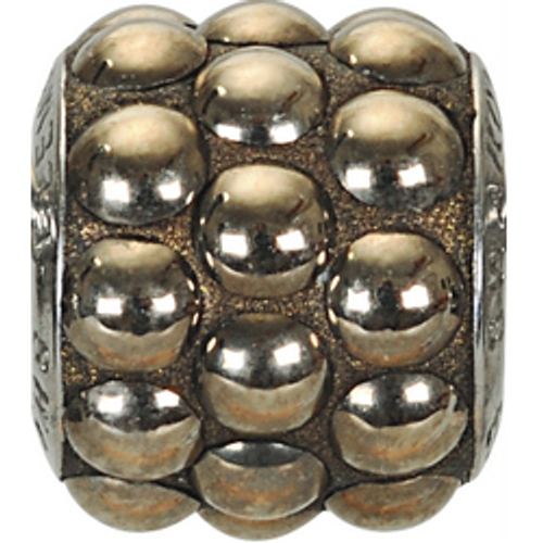 Swarovski 80601 10.5mm BeCharmed Pavé Cabochon Beads with Crystal Metallic Gold Stones on Metallic Gold base (12 pieces)
