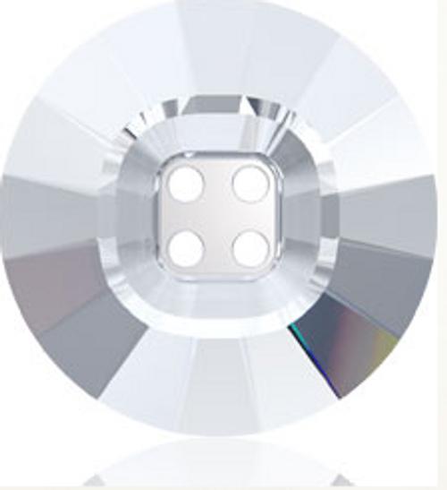 Swarovski 3018 23mm Rivoli Crystal Button Jet Hematite (16 pieces)