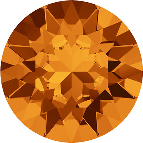 Swarovski 1088 39ss Xirius Round Stones Tangerine (144 pieces)