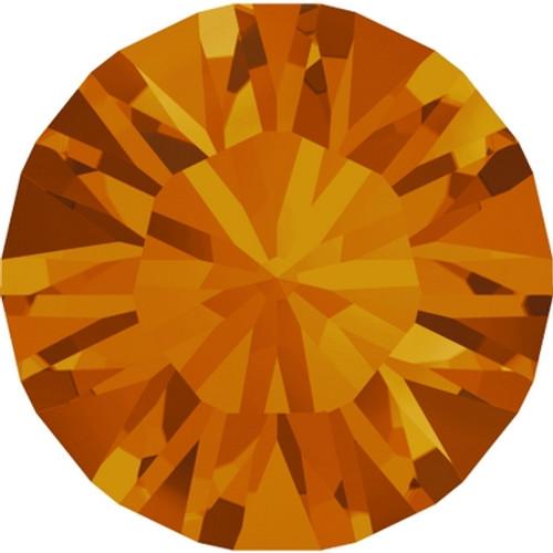 Swarovski 1088 34ss Xirius Round Stones Tangerine (144 pieces)