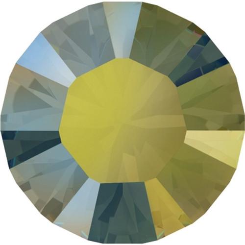 Swarovski 1088 32pp Xirius Round Stones Crystal Iridescent Green (1440 pieces)