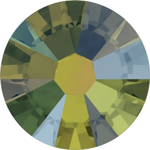 Swarovski 2058 7ss Xilion Flatback Crystal Iridescent Green (1440 pieces)