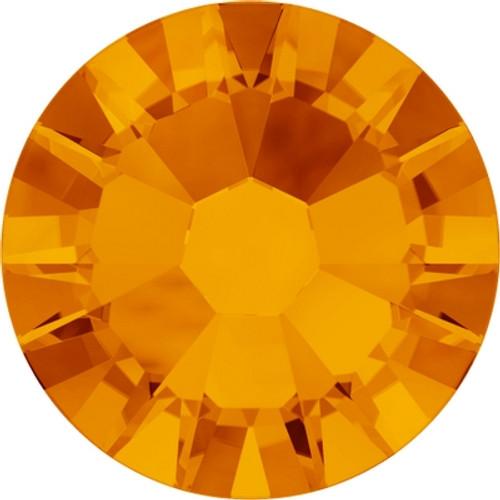 Swarovski 2058 5ss Xilion Flatback Tangerine (1440 pieces)