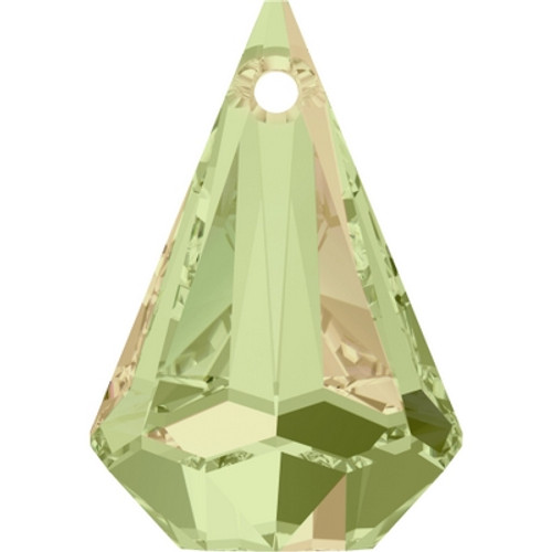 Swarovski 6022 14mm Raindrop Pendants Crystal Luminous Green (72 pieces)