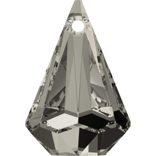 Swarovski 6022 14mm Raindrop Pendants Crystal Satin (72 pieces)