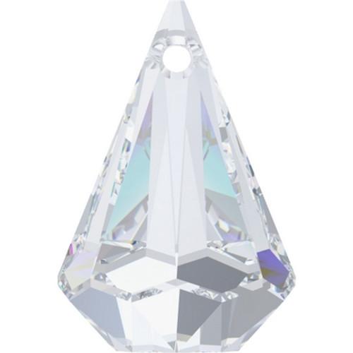 Swarovski 6022 32mm Raindrop Pendants Crystal (8 pieces)