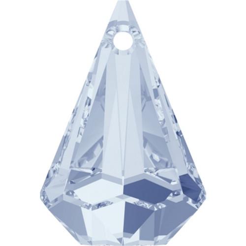 Swarovski 6022 33mm Raindrop Pendants Crystal Blue Shade (8 pieces)