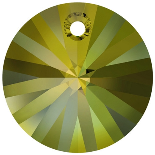 Swarovski 6428 8mm Wheel Pendants Crystal Iridescent Green (144 pieces)