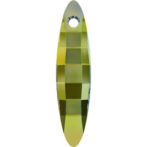 Swarovski 6470 40mm Ellipse Pendants Crystal Iridescent Green (18 pieces)