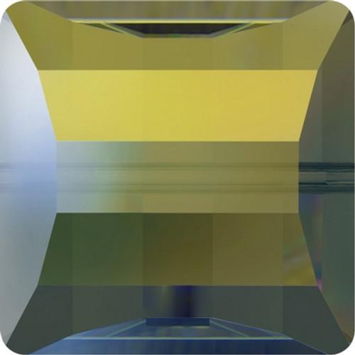 Swarovski 5624 14mm Stairway Beads Crystal Iridescent Green (72 pieces)