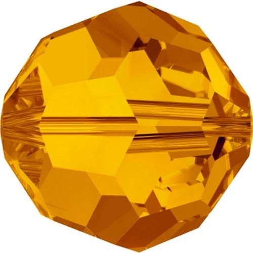 Swarovski 5000 8mm Round Beads Tangerine (288 pieces)