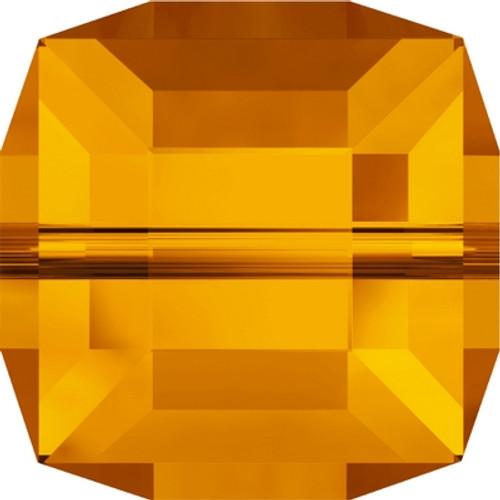 Swarovski 5601 6mm Cube Beads Tangerine (144 pieces)