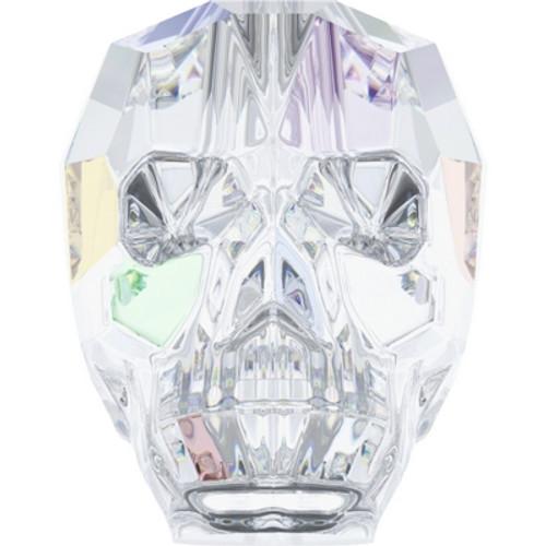 Swarovski 5750 19mm Skull Beads Crystal AB (12 pieces)