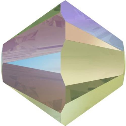 Swarovski 5328 3mm Xilion Bicone Beads Crystal Paradise Shine