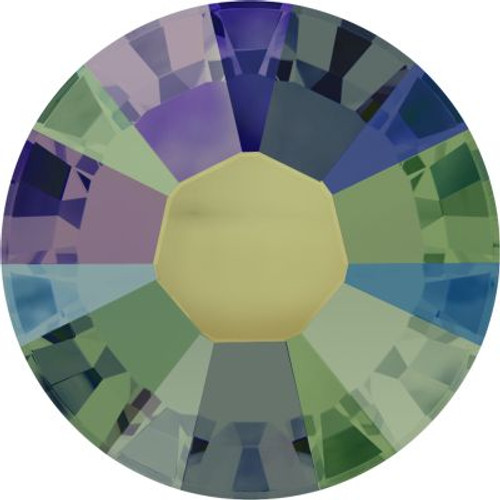 Swarovski 2038 8ss Xilion Flatback Crystal Paradise Shine Hot Fix