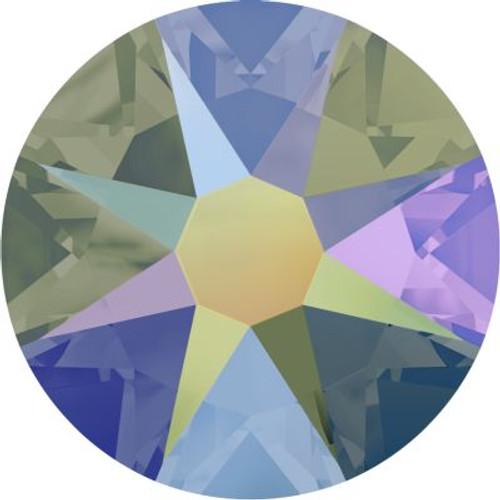Swarovski 2058 9ss Xilion Flatback Crystal Paradise Shine